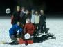 Decembrový tréning na snehu