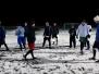 Upršaný tréning na snehu